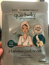 Que Bella  professional Intensive Foot Mask apple & Shea butter one pair