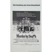 MURDER BY DEATH Original Pressbook  - 9x12 in. - 1976 - Robert Moore, Peter Sell