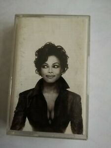 JANET JACKSON cassettes --designs of the decade - 1986 1996
