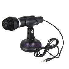 Portable Mini Dynamic Microphone Mic for PC Desktop Karaoke Skype Laptop NEW