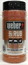Weber Savory Barbecue Dry Rub For Smoking & Barbecuing 13.5 oz