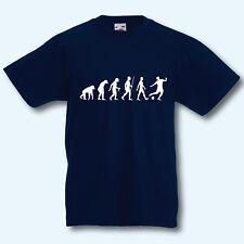 Kinder T-Shirt, Fun-Shirt Kids, Evolution Fußball, Sport, Fußballer