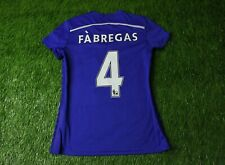 CHELSEA # 4 FABREGAS 2014/2015 WOMENS FOOTBALL SHIRT JERSEY HOME ADIDAS ORIGINAL