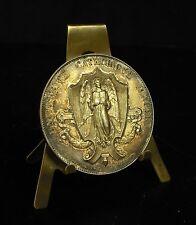 Médaille argent Université catholique d'Angers ville M.Juvin 1907 47g 46mm Medal