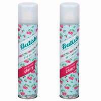 (2 Pack) New Batiste Dry Shampoo, Cherry 6.73 oz