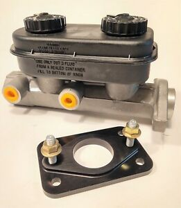 for Mopar E-Body Aluminum Dual Master Cylinder Upgrade Kit Cuda Chall Dodge Plym