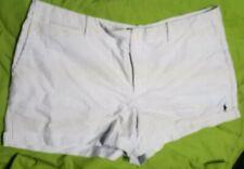 Polo Ralph Lauren Womens Seersucker Shorts Lightweight Bottoms  14