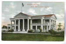 MICHIGAN BLDG. AT OLD STATE FAIR GROUNDS,DETROIT MICHIGAN 1911, POSTCARD