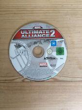 Mrvel Alianza 2 Ultimate para Nintendo Wii * disco solamente *