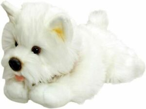 Keel Toys Westie White Terrier Dog- Soft cuddly Toy 30cm