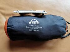 McKINLEY Hütten-Schlafschlafsack INLET COTTON MUMMY, unbenutzt