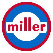 "MILLER 1960 DECAL STICKER 7"" - SET OF 2"