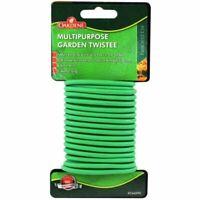 Oakdene Multipurpose Garden Soft Rubber Coated Tie 5 Metres. Reusable.