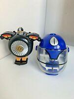 Vintage Bandai Power Rangers Zeo Warrior Wheel Zord 1996 & Mighty Morphin Helmet