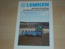 47469) Lemken Aufsattel-Drehpflüge Prospekt 05/2003