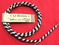 """gaine vintage """"Le Bicolore"""" 120 mobylette solex vélo ancien vespa cover cable"""
