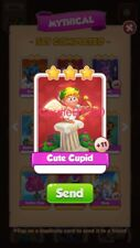 X1 Cute Cupid Coin Master trading card !!!Super Fast Dispatch!!!