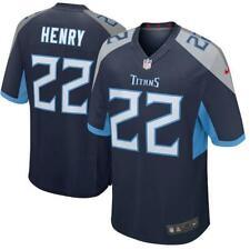Derrick Henry Men's Game Navy Jersey  Titans