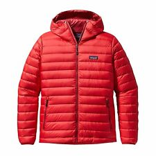 NWT Mens Red Patagonia Down Sweater Hoody Jacket 800 fill Goose Size XXL