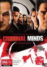 CRIMINAL MINDS : SEASON 2 : NEW DVD