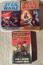 Star Wars JEDI ACADEMY Set *Dark Apprentice & Jedi Search* + Young Jedi Knights