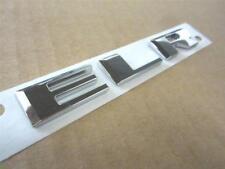 One 1 Genuine OEM 2014 2015 Cadillac ELR Chrome Nameplate Trunk Lid Emblem Badge