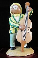 "Royal Doulton Bunnykins Figurine - ""Double Bass Player"" Bunnykins Db185"