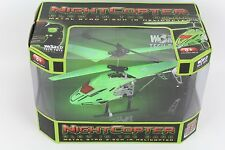 World Tech Toys Nightcopter Glow in the Dark Metal Gyro 3.5CH IR Helicopter