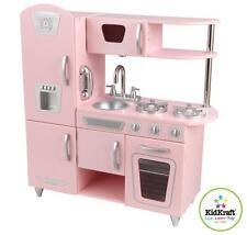 Kidkraft Kitchen Pink Vintage Pretend Play Kids Wooden PlayToy