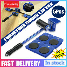 AU 5x Furniture Slider Lifter Moves Wheels Mover Kit Home Moving Lifting System