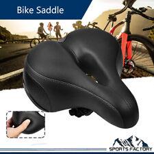 Wide Big Bum Gel Bike Seat Soft Road MTB Crusier Bicycle Cycling Saddle Cushion