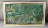 B1/ Worpswede 59, Öl auf Holz signiert - Meyer H. Rudolf (Meyer von Zollikon) H2