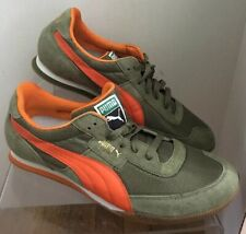 e56765a93 New PUMA LAB II sneakers lifestyle retro running shoes suede Green Orange  Mens12