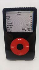 Refurbished Apple iPod Classic U2 Black 5th Enhaced 5.5 80GB New HDD and battery