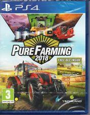 Pure Farming 2018 PS4 - NUOVO E SIGILLATO