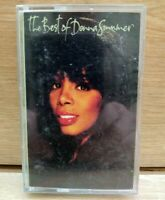 Rare The Best of DONNA SUMMER Cassette Tape Audio I feel love 1990 Disco Album