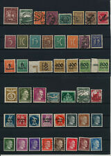 Germany, Deutsches Reich, Nazi, liquidation collection, stamps, Lot,used (TT 54)