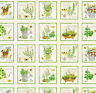 From the Garden Blocks  Cotton Quilt Fabric Wilmington By the Yard  BFab