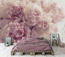Vlies Fototapete Schlafzimmer Blumen Rosa Pfingstrose Tapete Romantisch Rosen 11