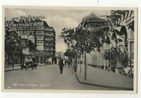 Port Said Boulevard Fouad I Egypt Vintage Postcard US138