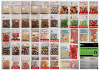 51 CHOICES NOVELTY CHRISTMAS FILLED SWEET BAG Gift Christmas Eve Stocking Filler