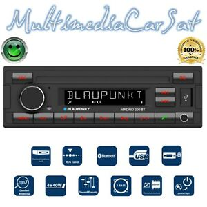 Blaupunkt Madrid 200-BT Autoradio Radio Stereo Bluetooth USB AUX SD RCA