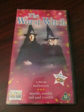 The Worst Witch Vol 2 A Mean Halloween  VHS Video Tape (NEW)