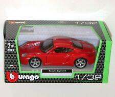 PORSCHE 911 997 gt2 Coupe Blu 2004-2012 KIT KIT 1//32 Bburago Auto Modello...
