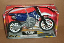 1/18 Scale Yamaha YZ 450F Plastic Dirt Bike Model Replica Dirtbike Motocross Toy