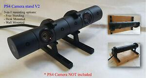 Playstation 4 PS4 Camera Stand Mount Holder PSVR - Two Single Brackets