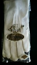 Vntg Embassy White Vinyl Gloves in Package- Bought at Woolworths - Japan Made