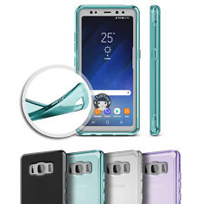 For Samsung Galaxy S8 Active Gloss Soft Gel TPU Silicone Case Skin Cover