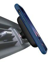 Case Evutec AERGO Ballistic Nylon for iPhone X,XS with Magnetic mount-BLUE