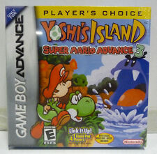 YOSHI'S ISLAND SUPER MARIO ADVANCE 3 NINTENDO GBA GAME BOY ADVANCE SEALED RARE